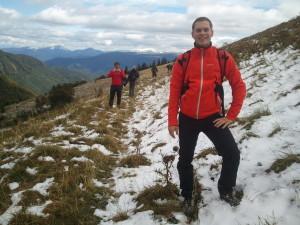 První sníh, Velká Fatra