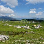 Velika Planina - náhorní plošina v Kamnicko-Savinjských Alpách ve Slovinsku