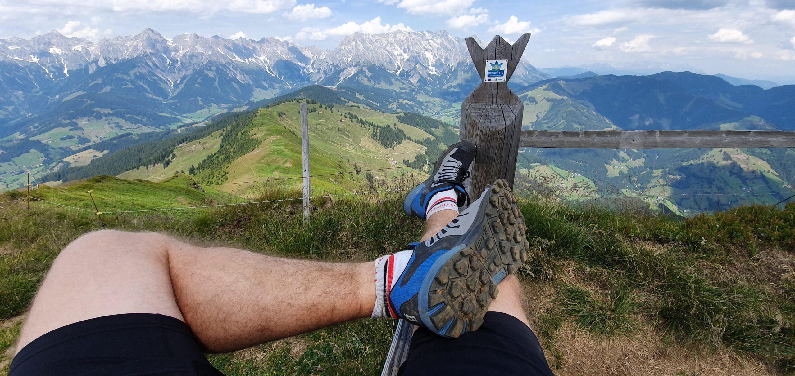 Klingspitz v rakouských Alpách a Inov-8 Roclite G 275